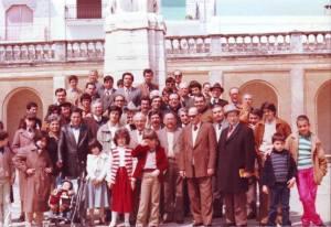 Riunione ex allievi 1980